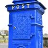 Rear view of 'Coastal Surf' Post Box