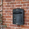 'The Sheffield' Post Box in Black