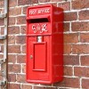'Redford Keep' Slim King George Post Box