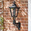 Wall Mounted porch Lantern Victorian style with royal bracket