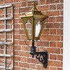Antique Brass Gothic garden lantern