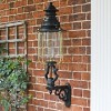 Belgravia Lantern and Royale Bracket in Situ