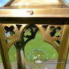 Close-up of the Gothic Design on the Lantern