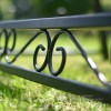 Luxury garden hammock ornate hand crafted scroll work