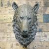 Mountain Bear Wall Bust