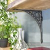 Iron Bridge Shelf Bracket - Small 22 x 22cm