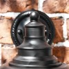 Close-up of the Top Finial on the Wall Light