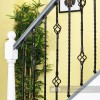 Set of 2 Grosvenor Rope Twist Iron Stair Spindles - Pattern 1
