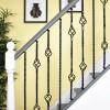 Set of 3 Grosvenor Rope Twist Stair Spindles - Pattern 2