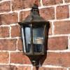 """Penley"" Flush Wall Light in Situ on a Brick Wall"