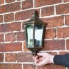 """""""Penley"""" Flush Wall Light to Scale"""