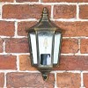 """View From the Front of the """"Penley"""" Flush Wall Light"""