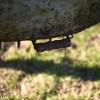 Wooden Handle For The BBQ Door