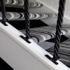 Plain Twist Stair Spindles In Situ In Contempory Home