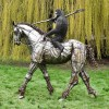 Planet Of The Apes Sculpture with 'Caesar' Riding Horse