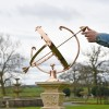 Polished Copper Armillary to Scale
