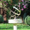 "Customer Photo of the ""Profatius"" Armillary in Situ i the Garden"
