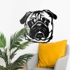 Pug Art in Situ in the Home