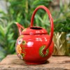 Red Watering can with a Large Carry Handle