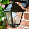"Close-up of the ""Sheringham"" Wall Lantern"