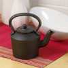 Small Cast Iron Decorative Kettle