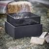 Square Mesh Fire Pit & Wood Burner
