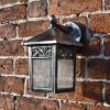 """Thetford"" Traditional Wall Lantern View From the Front"