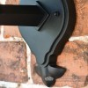 Traditional Bottom Fix Black Wall Lantern Mounting Plate
