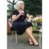 """""""Wesley Park"""" Petite Garden Chairs in Situ in the Garden"""