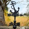 Anchor Weathervane in Situ on a House