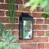 Traditional Flush Wall Light in Situ