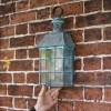 Search Light Inspired Flush Wall Lantern To Scale