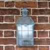 """Tawsden Cove"" Search Light Inspired Flush Wall Lantern"