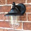 Bakewell Traditional Black Wall Lantern