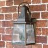 """Augusta"" Standard Solid Brass Wall Mounted Lantern"