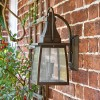 Side view of 'Augusta' Wall Mounted Light