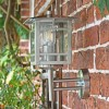 Stainless Steel Wall Lantern Side Profile