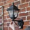 Traditional Black Wall Light