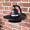 Modern Overhanging Wall Light Curved Bracket
