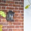 Avebury Bronze Wall Lantern in Situ