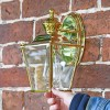 Polished Brass Top-Fix Lantern to Scale