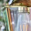 Polished Brass Top-Fix Lantern Internal Bulb Holder