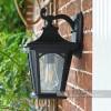 Medium Hamstead Black Wall Light