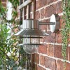 Contemporary Silver Caged Wall Light