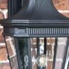 Large Black Ornate Victorian Wall Light Details