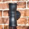 Malvern Black wall lantern
