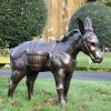 Travelling Donkey Sculpture in full