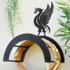 Wall Mounted Liver Bird Iron Hose Holder Finished in Black