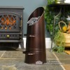 Traditional Coal Hod Finished in an Antique Bronze Finish