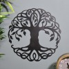 Tree of Life Wall Art on Blue Wall